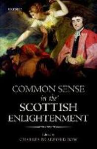 Common Sense in the Scottish Enlightenment - cover