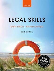 Legal Skills - Emily Finch,Stefan Fafinski - cover