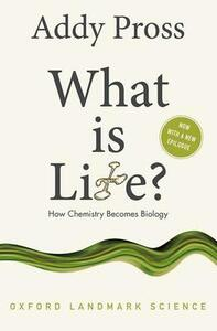 What is Life?: How Chemistry Becomes Biology - Addy Pross - cover