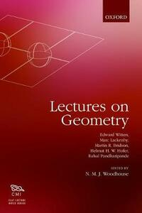 Lectures on Geometry - Edward Witten,Helmut Hofer,Rahul Pandharipande - cover