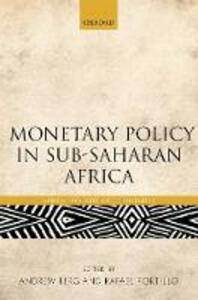 Monetary Policy in Sub-Saharan Africa - cover