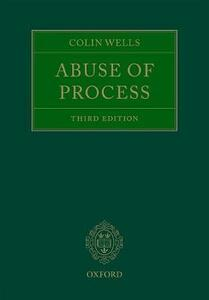 Abuse of Process - Colin Wells - cover