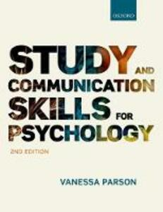 Study and Communication Skills for Psychology - Vanessa Parson - cover