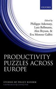 Productivity Puzzles Across Europe - cover