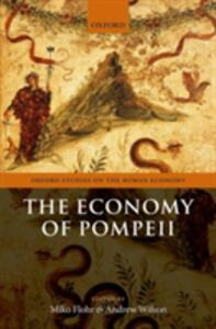 The Economy of Pompeii - cover
