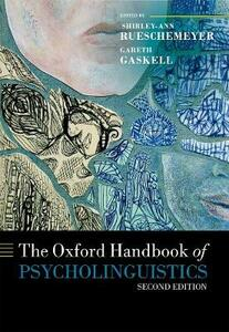 The Oxford Handbook of Psycholinguistics - cover