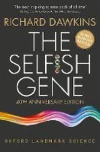 The Selfish Gene: 40th Anniversary edition - Richard Dawkins - cover