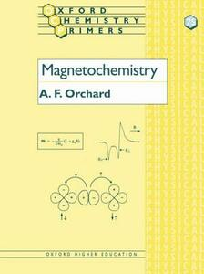 Magnetochemistry - A .F. Orchard - cover