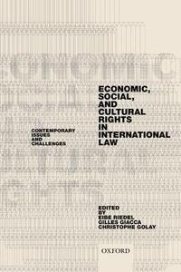 Economic, Social, and Cultural Rights in International Law: Contemporary Issues and Challenges - cover