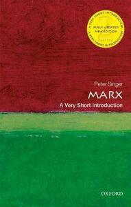 Marx: A Very Short Introduction - Peter Singer - cover