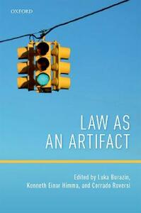 Law as an Artifact - cover