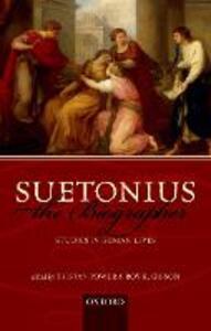 Suetonius the Biographer: Studies in Roman Lives - cover