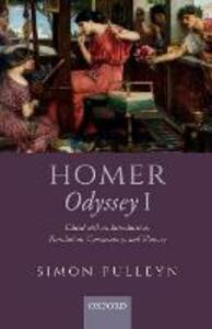 Homer, Odyssey I: Edited with an Introduction, Translation, Commentary, and Glossary - Simon Pulleyn - cover