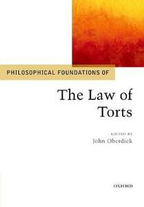 Philosophical Foundations of the Law of Torts - cover