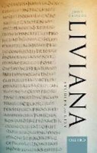 Liviana: Studies on Livy - John Briscoe - cover