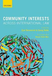 Community Interests Across International Law - cover