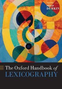 The Oxford Handbook of Lexicography - cover