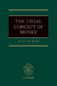 The Legal Concept of Money - Simon Gleeson - cover