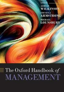 The Oxford Handbook of Management - cover
