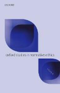 Oxford Studies in Normative Ethics Volume 8 - cover