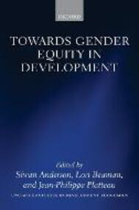 Towards Gender Equity in Development - cover