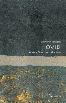 Ovid: A  Very Short Introduction - Llewelyn Morgan - cover