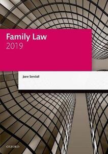Family Law 2019 - Jane Sendall - cover