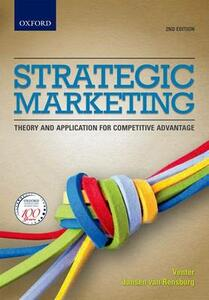 Strategic Marketing: Theory and Applications for Competitive Advantage - cover