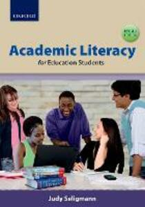 Academic literacy for education students - Judy Seligmann - cover
