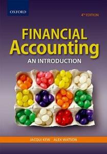 Financial Accounting: An introduction - Jacqui Kew,Alex Watson - cover