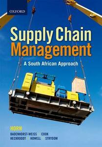 Introduction to Supply Chain Management - A Logistics Approach - Hannie Badenhorst-Weiss,Strydom Strydom,Jerome Strydom - cover