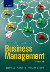 Introduction to Business Management - J.A. Badenhorst-Weiss,T. Brevis-Landsberg,M. C. Cant - cover