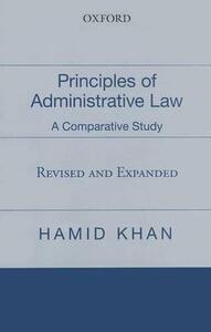 Principles of Administrative Law - Hamid Khan - cover