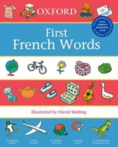 Oxford First French Words - cover