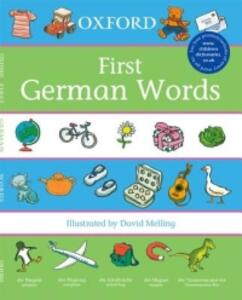 Oxford First German Words - Neil Morris - cover