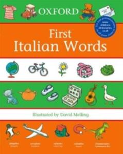 First Italian Words - cover