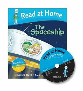 Read at Home: 3c: The Spaceship Book + CD - Roderick Hunt,Cynthia Rider - cover