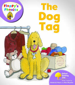 Oxford Reading Tree: Level 1+: Floppy's Phonics: The Dog Tag - Rod Hunt - cover