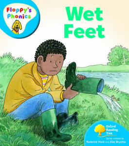 Oxford Reading Tree: Level 2A: Floppy's Phonics: Wet Feet - Rod Hunt,Alex Brychta,Oxford Reading Tree - cover