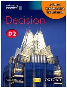 A Level Mathematics for Edexcel: Decision D2 - Brian Jefferson - cover