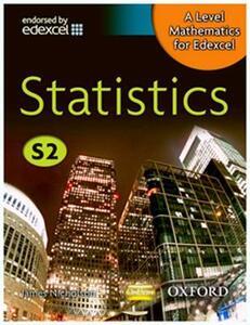 A Level Mathematics for Edexcel: Statistics S2 - James Nicholson - cover