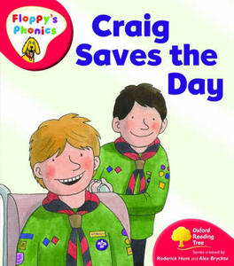 Oxford Reading Tree: Level 4: Floppy's Phonics: Craig Saves the Day - Roderick Hunt - cover