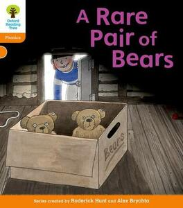 Oxford Reading Tree: Level 6: Floppy's Phonics: A Rare Pair of Bears - Roderick Hunt - cover