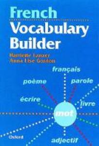 French Vocabulary Builder - Harriette Lanzer,Anne Lise Gordon - cover