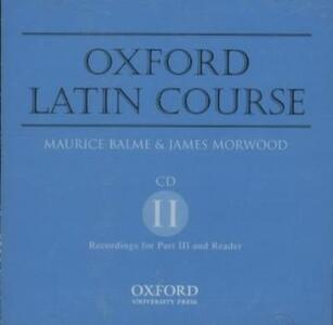 Oxford Latin Course: CD 2 - James Morwood - cover