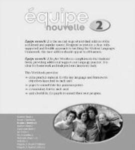Equipe nouvelle: 2: En Plus Workbook - Daniele Bourdais,Sue Finnie,Anna Lise Gordon - cover