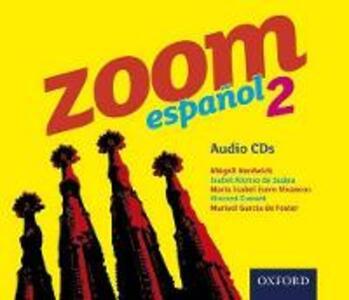 Zoom espanol 2 Audio CDs - cover