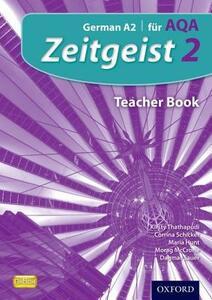Zeitgeist: 2: Fur AQA Teacher Book - Harriette Lanzer,Ann Adler,Helen Kent - cover