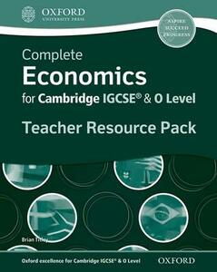 Complete Economics for IGCSE (R) and O-Level Teacher Resource Pack - Brian Titley - cover