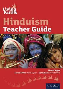 Living Faiths Hinduism Teacher Guide - Neera Vyas - cover